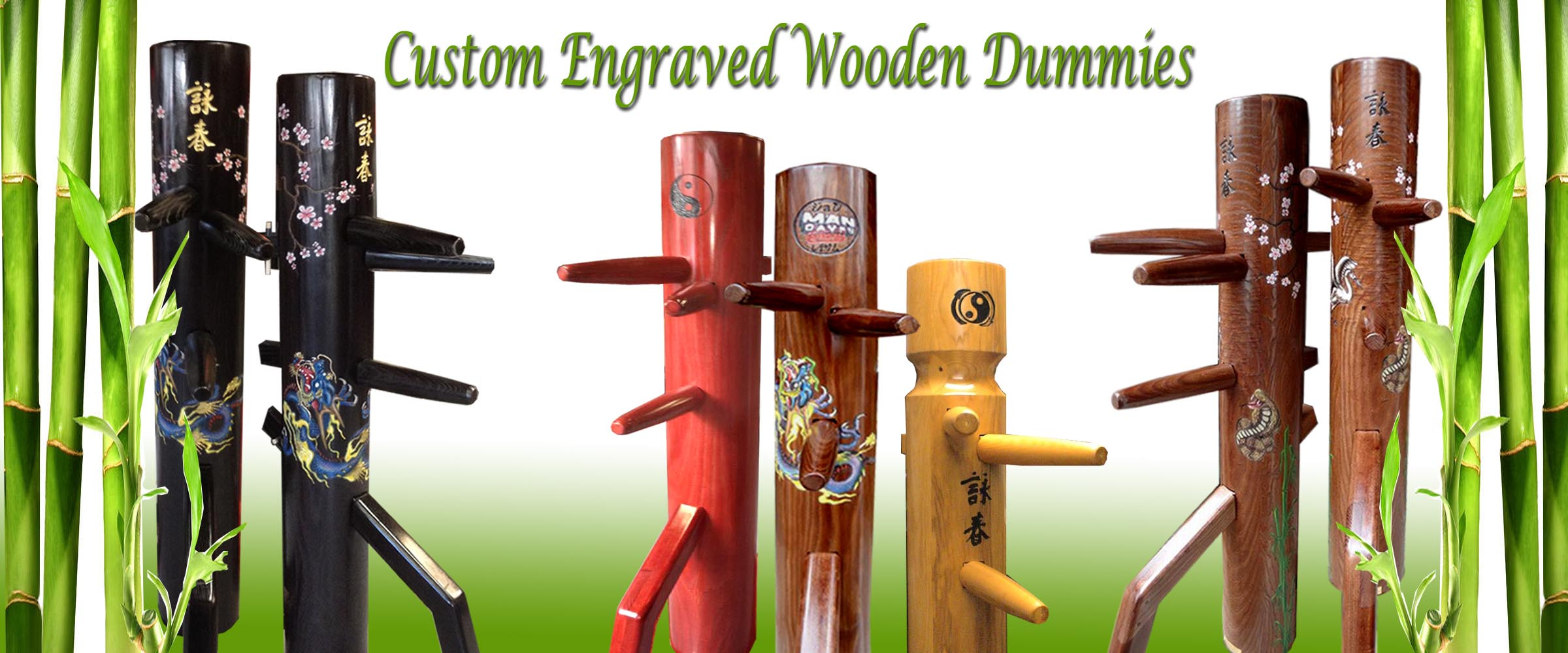 Warrior Martial Arts Wooden Dummies At Everything Wing Chun